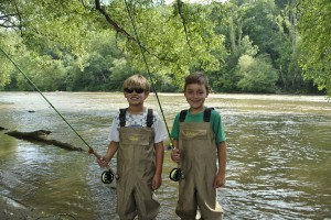 Fly Fishing near Cherokee and Bryson City NC