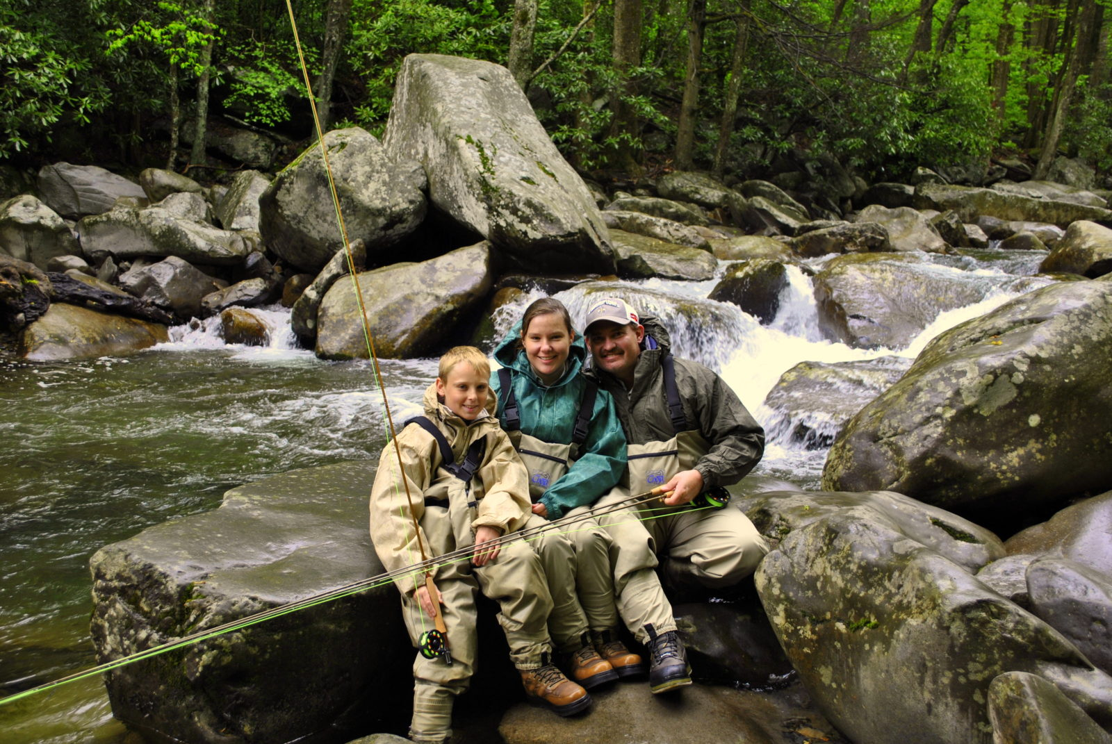 Fly fishing guides and trips in gatlinburg and pigeon forge tn for Tennessee fishing guide