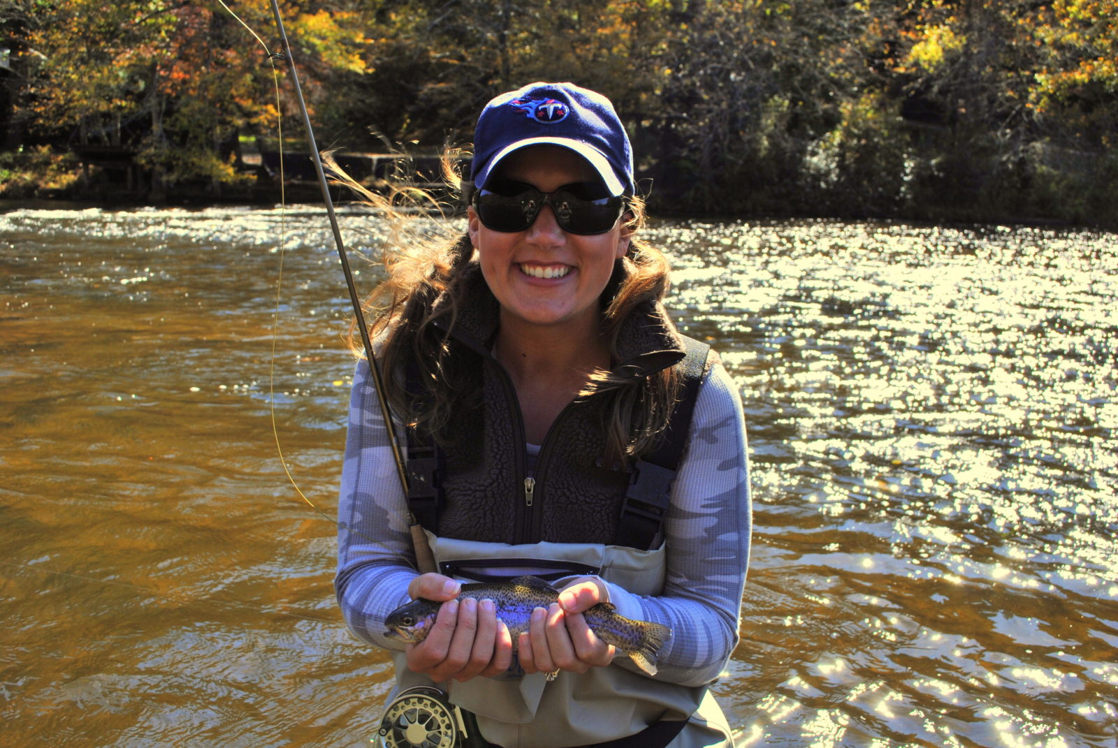 Photo gallery 2 guided fly fishing in cherokee ncguided for Fly fishing cherokee nc