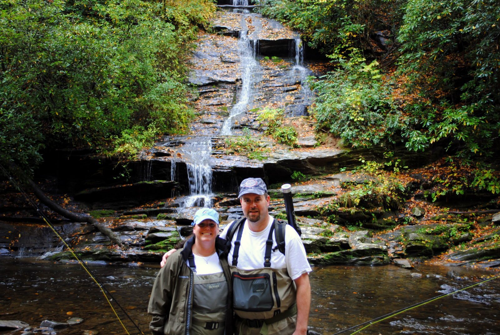 Fly fishing guides gatlinburg pigeon forge sevierville for Fishing in pigeon forge tn