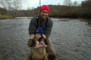 Fly Fishing the Smokies, Tuckasegee River, Fly Fishing for Kids, Fly Fishing Guides, Tuckasegee River, Bryson City, Cherokee, Gatlinburg, Pigeon Forge, Sevierville, North Carolina, Tennessee,