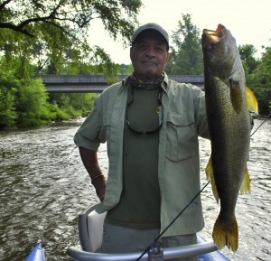 Record Walleye on the Tuckasegee River