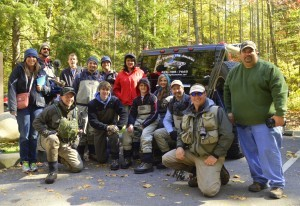 Wyndham Resorts Fly Fishing Group Trip, Fly Fishing the Smokies, Gatlinburg Tennessee, Great Smoky Mountains