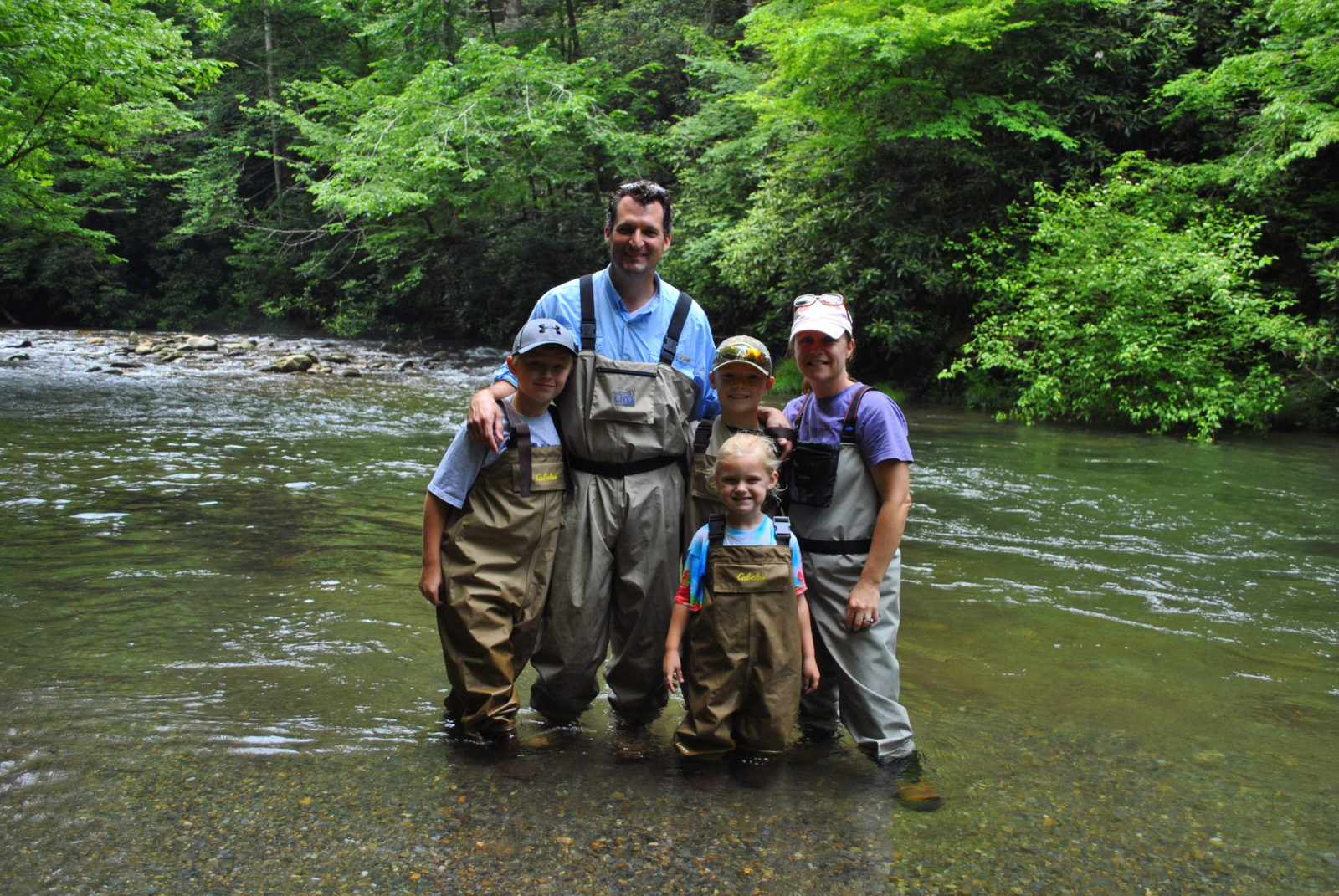 Summer fly fishing guided fly fishing in cherokee for Fly fishing cherokee nc