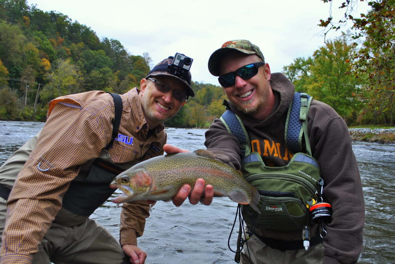 Fishing trips in pigeon forge tn for Fishing in gatlinburg tn