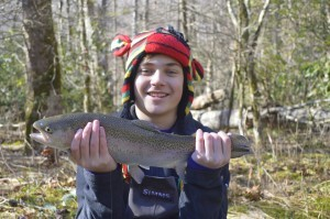 Trophy Trout, Winter Trophy Trout, Winterfest, Gatlinburg, Pigeon Forge, Sevierville, Cherokee, Bryson City, Great Smoky Mountains, Fly Fishing Guides.