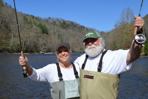 Paula Deen Fly Fishing, Fly Fishing the Smokies, Paul Deen Fly Fishing the Smokies,