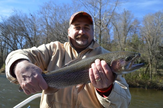 Winter Fishing, Winter Fly Fishing the Smoky Mountains, Bryson City, Tuckasegee River, Cherokee, Gatlinburg, Pigeon Forge, Sevierville