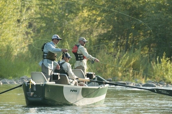Fall float trip special tuckasegee river float trips for for Fishing boat trips
