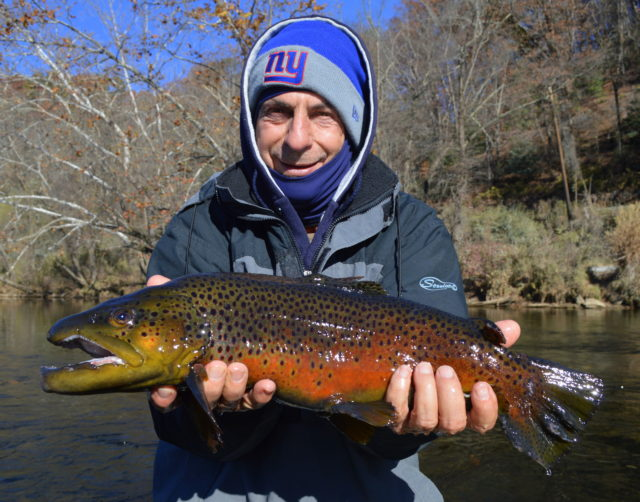 Winter Fly Fishing, Trophy Trout Fly Fishing Special, Smoky Mountains